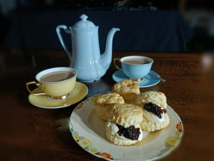 Tour 1: Mansfield House Tour, Devonshire tea & Guided Historic Walk